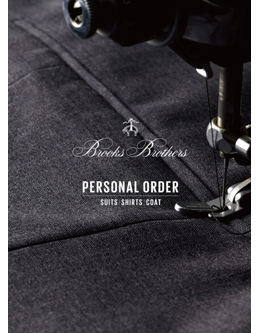 Brooks Brothers PERSONAL ORDER CATALOG