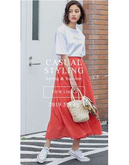 fifth casual styling spring&summer 2019 2