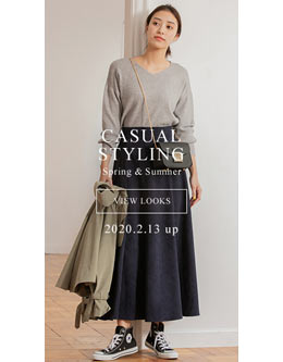 fifth casual styling spring&summer 2020. 2.13 up