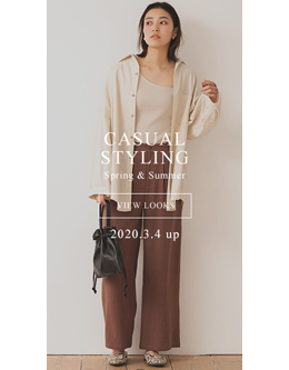 fifth casual styling spring&summer 2020. 3.4 up