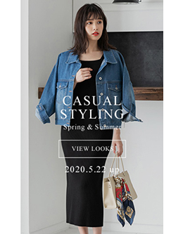 fifth casual styling spring&summer 2020. 5.22 up