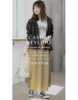 fifth Casual Styling Autumn&Winter 2020.9.9 up