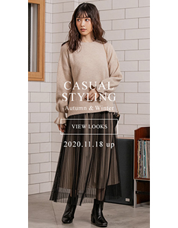 fifth Casual Styling Autumn&Winter 2020.11.18 up