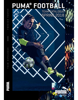 PUMA FOOTBALL TEAM CATALOGUE SPRING 2018
