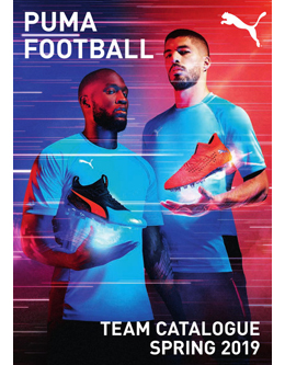 PUMA FOOTBALL TEAM CATALOGUE SPRING 2019