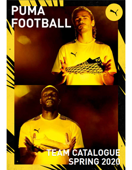 PUMA FOOTBALL TEAM CATALOGUE SPRING 2020