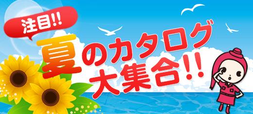 注目!夏のカタログ大集合!