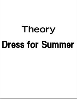 Theory Dress for Summer