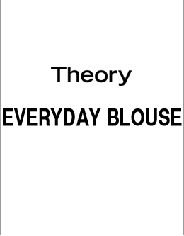 Theory EVERYDAY BLOUSE