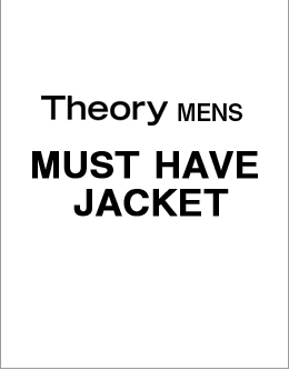 Theory Men's MUST HAVE JACKET