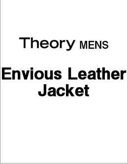 Theory Men's Envious Leather Jacket