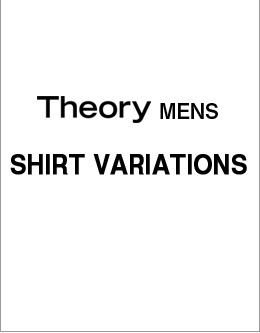 Theory Mens SHIRT VARIATIONS