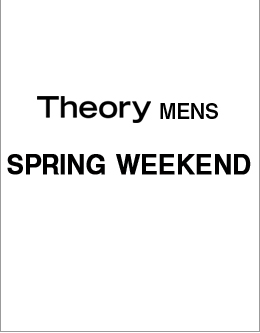 Theory Men's SPRING WEEKEND