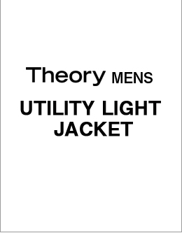 Theory Men's UTILITY LIGHT JACKET